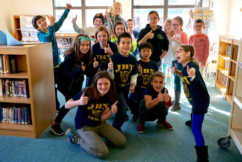 <p>We are so proud of the 50+ JB Nelson students that applied for SAB-Student Council this year.  We know it takes courage to apply for a position like this. It was such a hard decision this year to only choose 25 new members for the school year.  If you do not see your name please remember there will be other opportunities for you throughout this year to get involved in our school community.  Our first meeting will be held on Friday, September 27th from 7:45-8:45am.  Information will be sent home with new members on Monday for ordering shirts, meeting dates and email contact information.  Thank you to all of the students who participated in the application process.</p> <p>More information posted under NEWS link.</p>